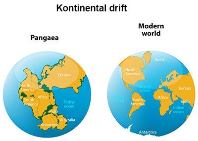 Pangea og kontinentaldrift