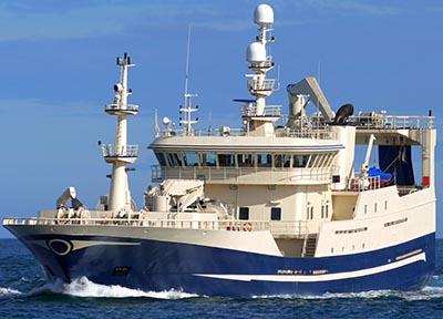 Moderne fiskekutter