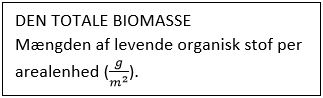 DEN TOTALE biomasse