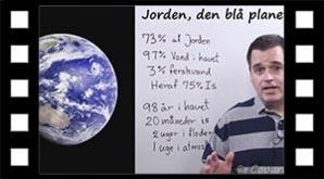 Jorden, den blå planet