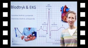 Blodtryk og EKG