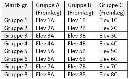 Matrixgruppe